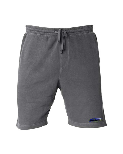 Pigment-Dyed Fleece Shorts