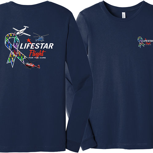 Flight for a Cure Ribbons Long Sleeve