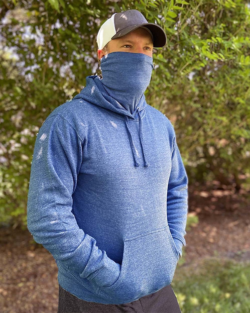 Gaiter Fleece Hooded Sweatshirt