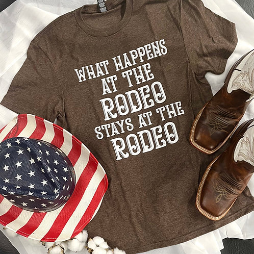 What Happens at the Rodeo Tee
