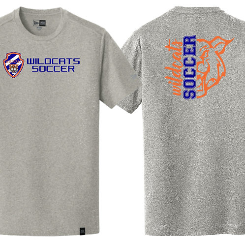 Wildcats Soccer Grey Tee