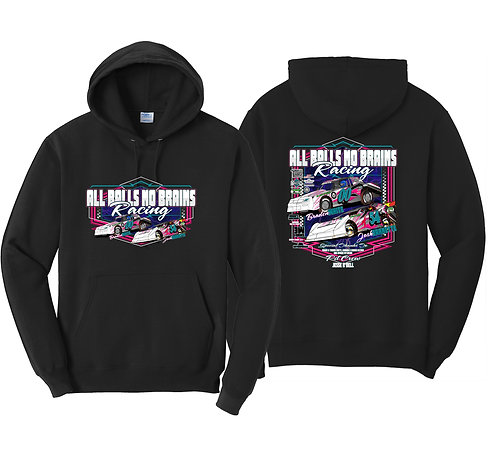 All Balls No Brains Racing 2021 Hoodie