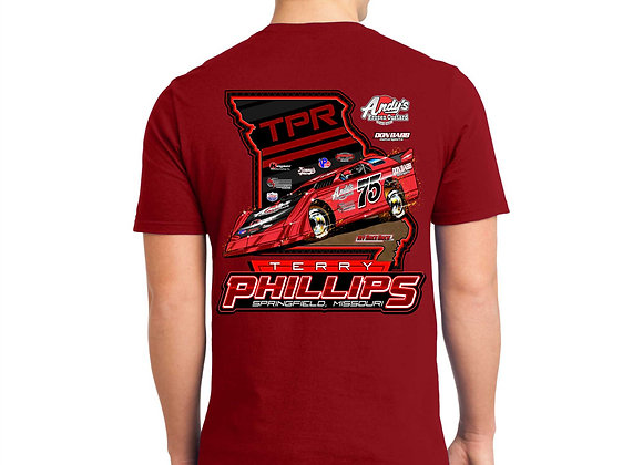 Terry Phillips State Pride Late Model Tee