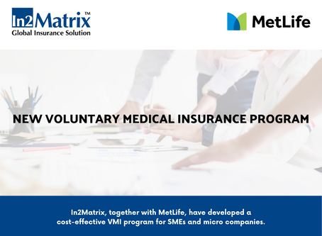 In2Matrix, together with MetLife, have developed a cost-effective VMI program for SMEs