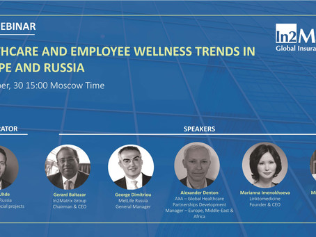 Join free webinar: Healthcare and employee wellness in Europe and Russia