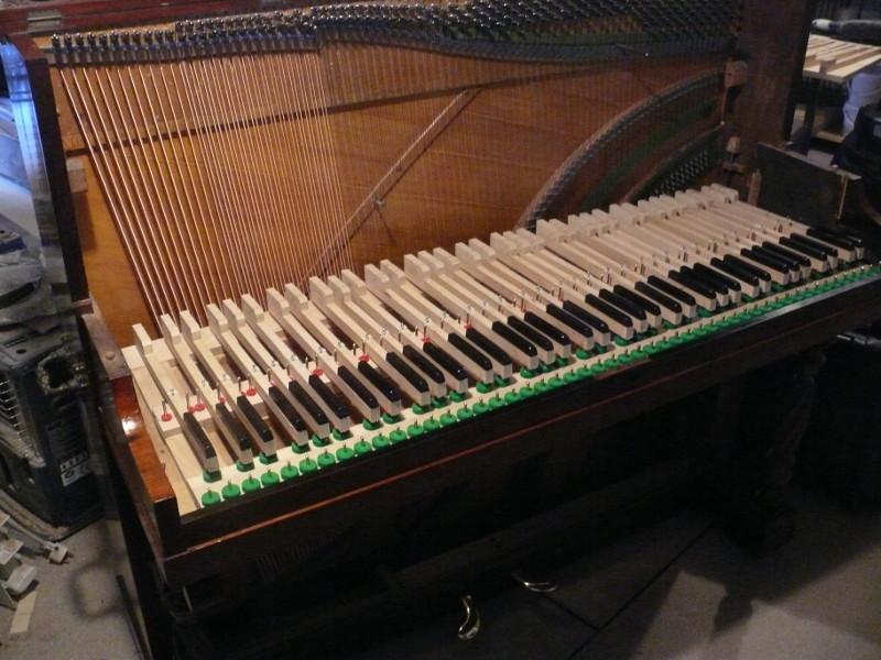 Ajustage dans le piano