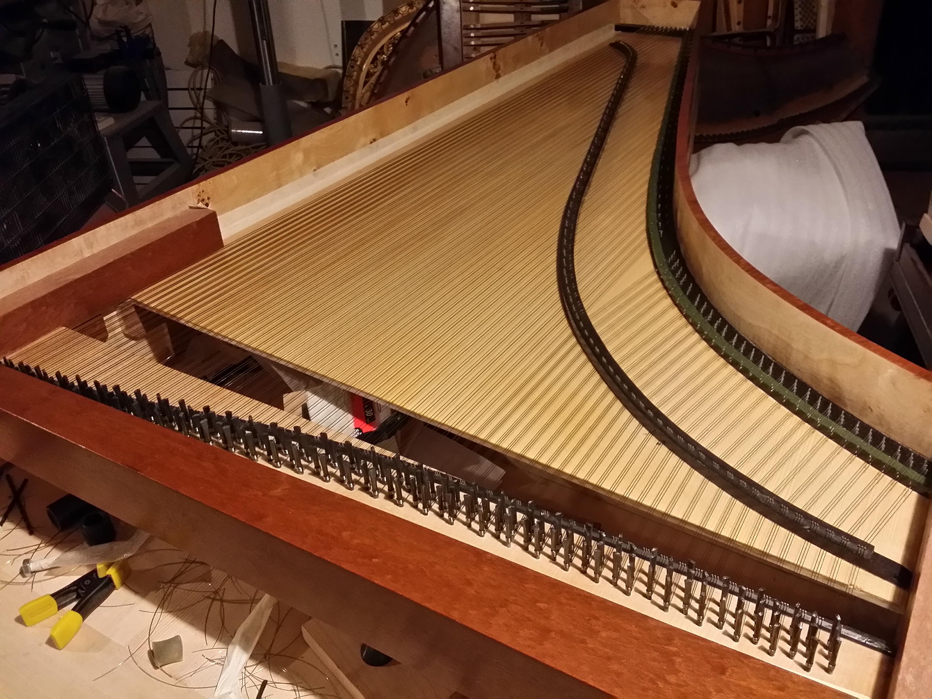 Opus 2 mis en cordes