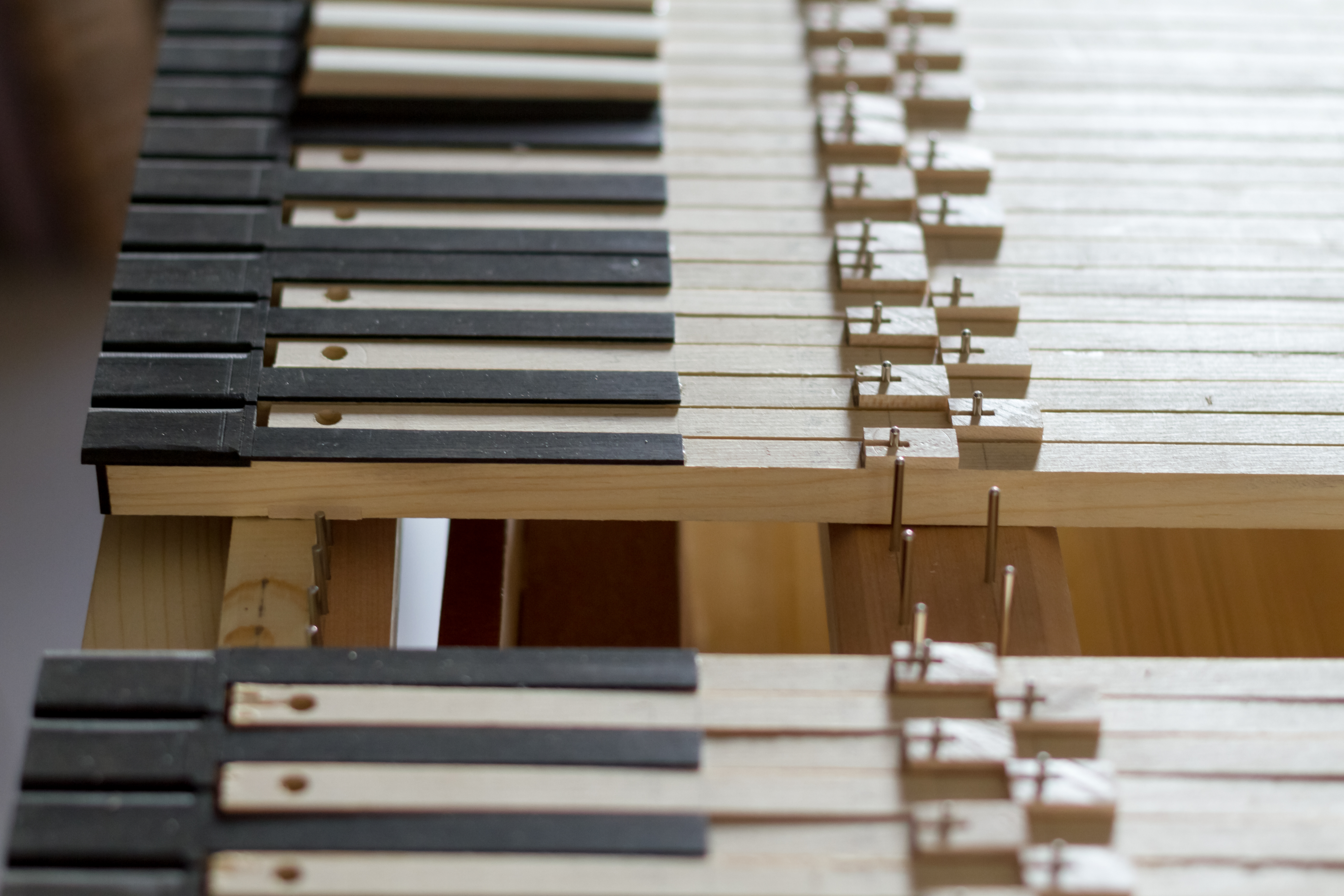 Clavier en construction - Opus 2