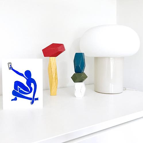 Matisse Selfie Card
