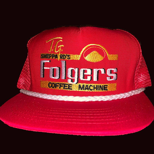 Limited Edition Folgers NASCAR Baseball Cap