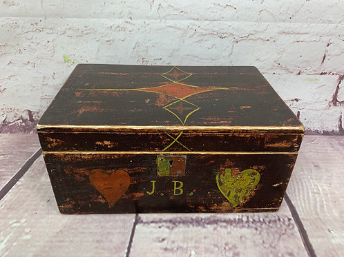 Coffret peint/ painted box
