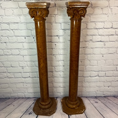 2 colonnes d'église/ 2 Church columns