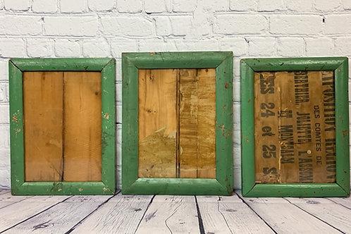 3 cadres / 3 frames
