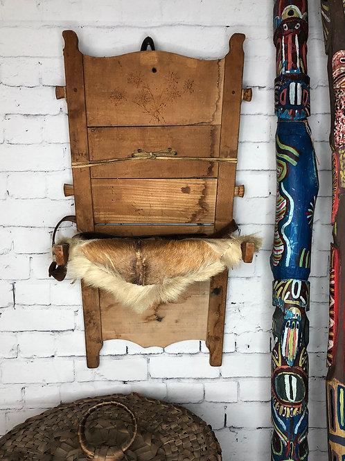 Porte bébé Amérindien / Papoose Board