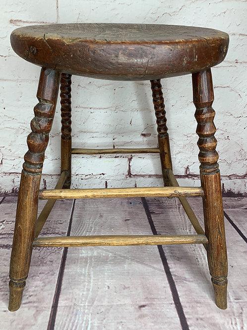 Petit banc naïf // Folky Naïve stool