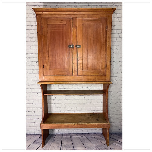 Armoire banc sceaux / Pail bench cupboard