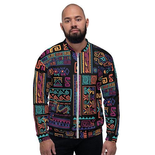 Unisex Poetry Tribe Bomber Jacket