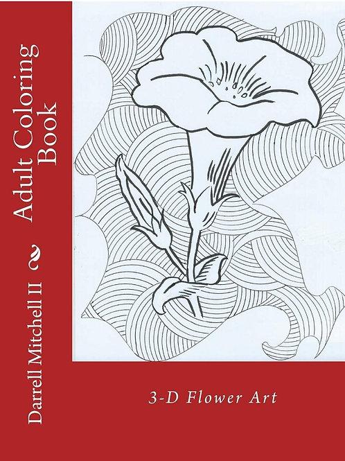 Coloring Book - 3D Flower Art