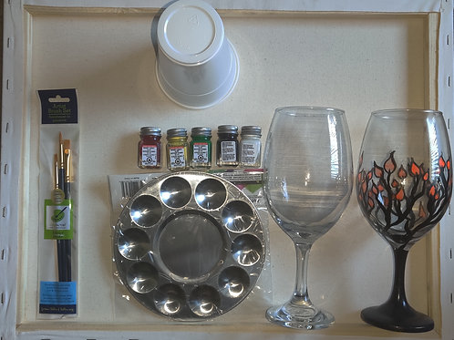 Wine Glass Paint Kit