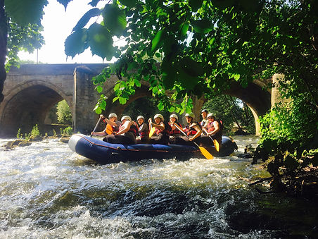White Water Rafting Derbyshire Peak District