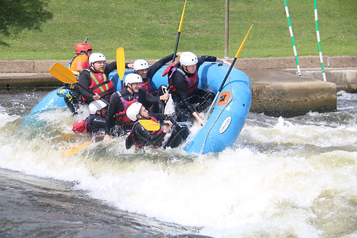 White Water Rafting Nottingham Holme Pierrepont