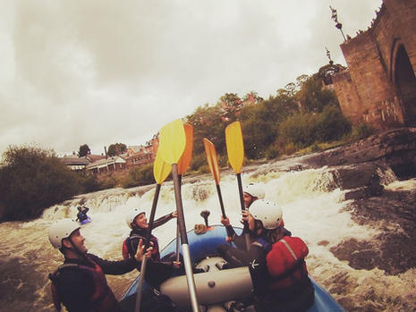 White Water Rafting River Dee