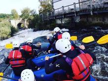 White Water Rafting River Dee