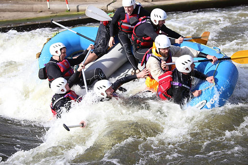 White water rafting, photos by Wilkinson