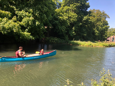 Canoeing Cromford Canal