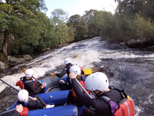 Rafting River Dee