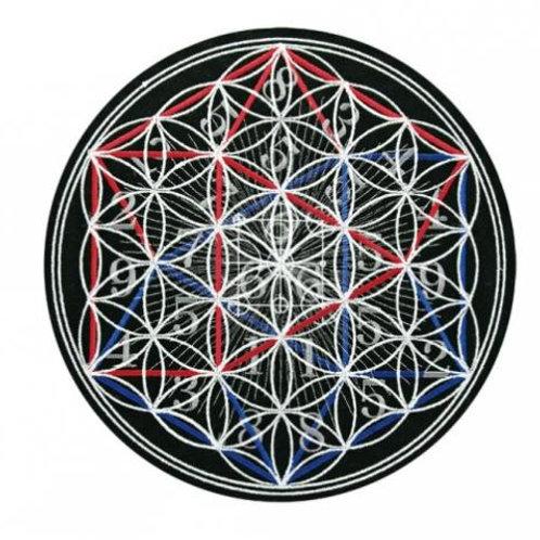 神聖幾何学魔法陣 火風水 (ひふみ) 黒