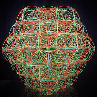 神聖幾何学、トッチ、フラワーオブライフ | T-flow Art Agency | 日本