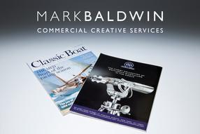 Mark Baldwin Commercial Creative Services logo and link