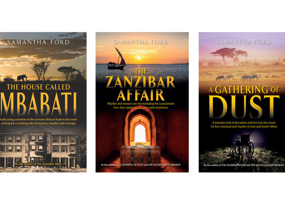 Samantha Ford book covers
