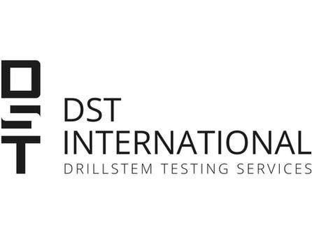 Logo for DST International, Mauritius