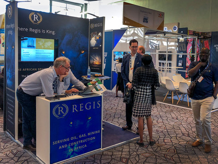 Regis Exhibition Stand