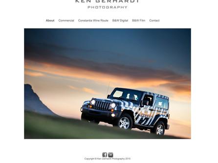 Ken Gerhardt Website, South Africa