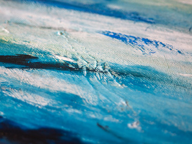 Close-up of painting by Eclectic Art