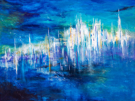 Abstract painting photo