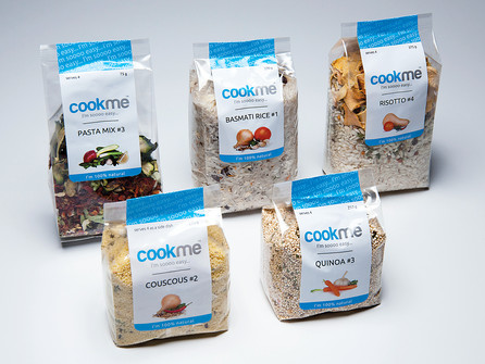 cookme product packaging
