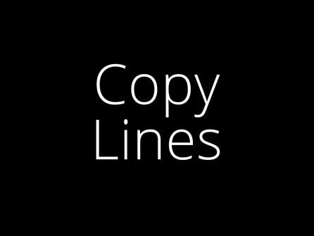 Copy Lines image