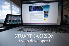Stuart Jackson web developer image