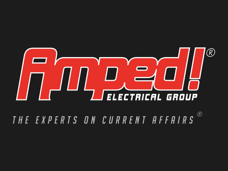 Logo for Amped! Electrical