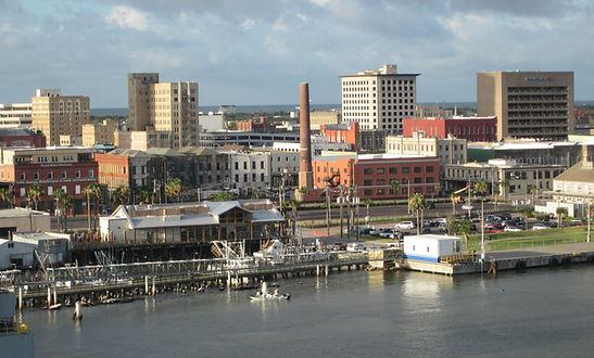 Galveston Port View