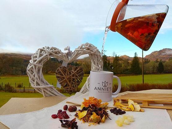 tasty herbal tea range Annie's Herb Kitchen