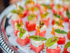 Alex and Claudia Jessica Strike (15) watermelon feta mint skewers.JPG