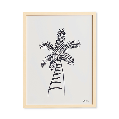 Quadro Palmeira Brasileira