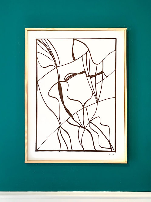 JOSH - Quadro Abstrato