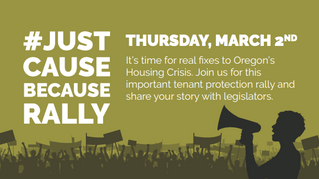 Stable Homes for Oregon Families Lobby Day, March 2!