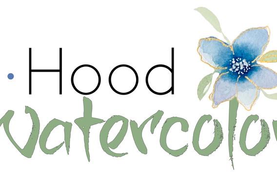 watercolor artist logo